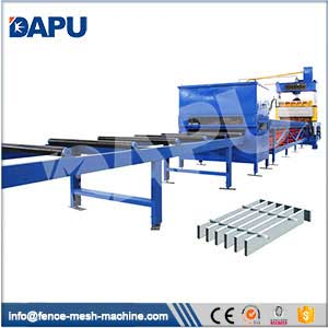 Electro-forged-grating-welding-machine