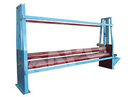 Screen-mesh-flattening-machine