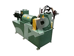 Twisted-square-bar-straightening-and-cutting-machine