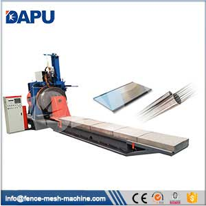 Wedged-wire-screen-welding-machine
