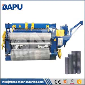 Welded-wire-mesh-machine