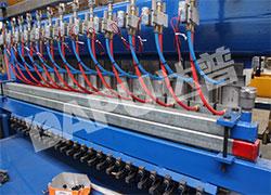 358 weld mesh panel machine cylinder
