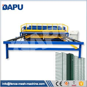 358-weld-mesh-panel-machine