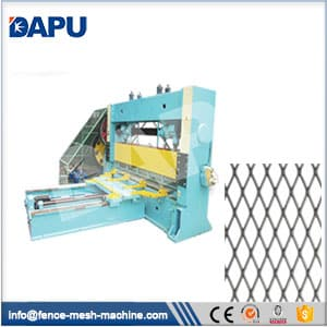 Expanded-metal-mesh-machine