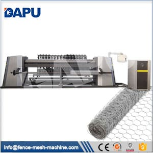 Hexagonal-wire-netting-machine
